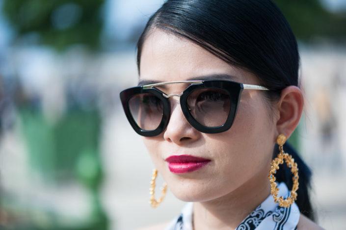Spring-summer 2015 fashion week in Paris.