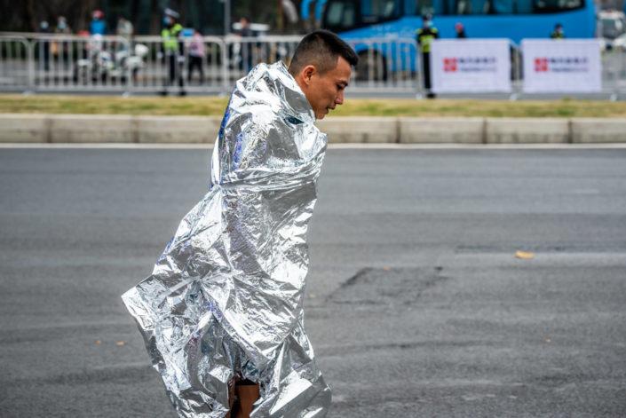 Chengdu, Sichuan province, China - Nov 29, 2020 : Marathon 2020